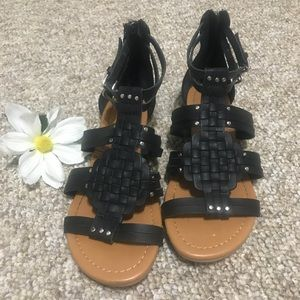 Shoes - Y-Not Gladiator Sandals